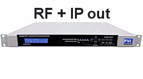 RF & IPTV simultaneous out