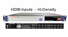 HI-Density HDMI IPTV Encoders