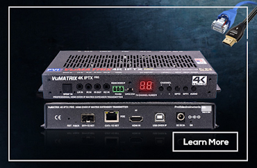 Explore HDMI Over IP Ethernet Video Distribution VuMATRIX PVI ProVideoInstruments