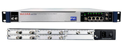 10 channel sdi to qam atsc isdbt dvbt and iptv streaming hdtv digital rf modulator for sdi over coax video distribution vecoax pro 10 sdi pvi