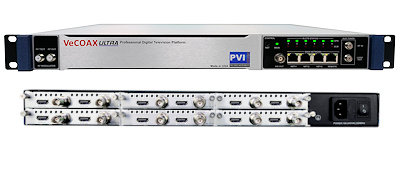12 channel hdmi component ypbpr ac cc professional digital tv rf modulator for hd video over coax qam atsc isdbt dvbt and iptv streaming distribution vecoax pro 12 pvi