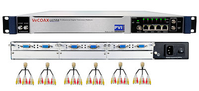 18 channels cvbs composite av digital rf modulator for qam atsc dvbt isdbt video distribution over coax and ip streaming vecoax pro 18 av pvi