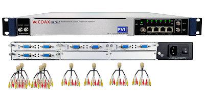 24 channels cvbs composite av digital rf modulator for qam atsc dvbt isdbt video distribution over coax and ip streaming vecoax pro 24 av pvi