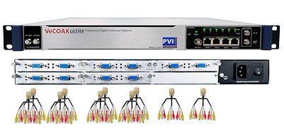 30 channels cvbs composite av digital rf modulator for qam atsc dvbt isdbt video distribution over coax and ip streaming vecoax pro 30 av pvi