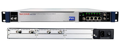 4 channel sdi to qam atsc isdbt dvbt and iptv streaming hdtv digital rf modulator for sdi over coax video distribution vecoax pro 4 sdi pvi