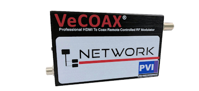 hd rf modulator with ip web remote control for hdmi to coax network modulator hd video distribution as qam atsc isdbt dvbt digital tv channel vecoax network pvi
