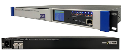 hdmi distribution to all tv over coax with vecoax ultra 1 hdtv digital rf modulator qam atsc isdbt dvbt pvi