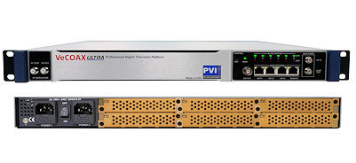 iptv to rf modulator to convert ip streaming to rf digital television channels over coax ipmod pvi