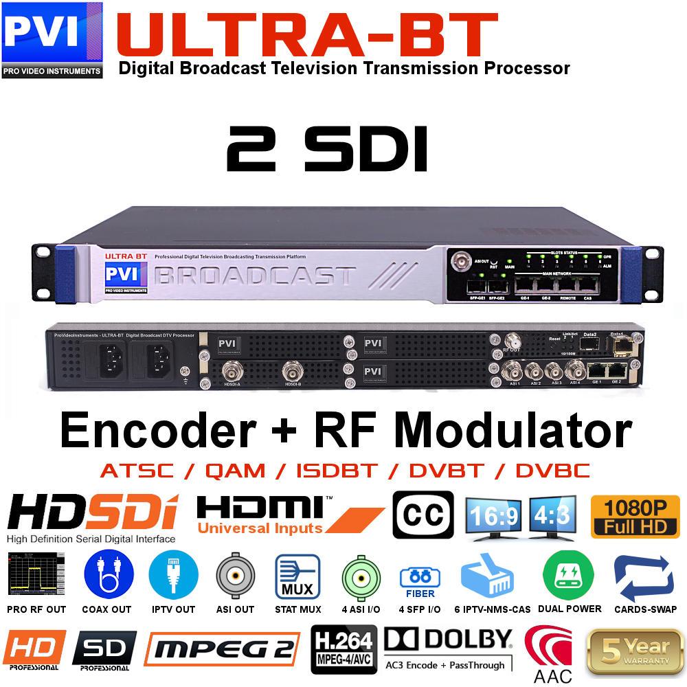 Vecoax Ultra Bt 2 Sdi Atsc Modulator 2 Channels Hd Sdi