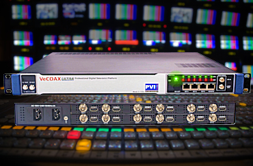 Digital Video Broadcasting headends for tv stations and broadcast headends